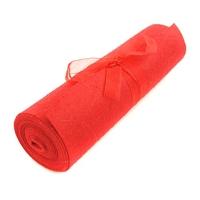 Filc kolorowy 1 mm - 20cm3m - czerwony - czerwony