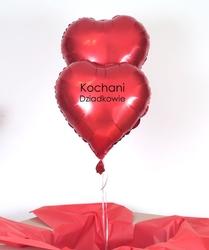 Zestaw balonów z napisem - kochani dziadkowie
