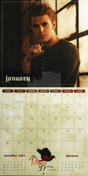 Pamiętniki wampirów - kalendarz 2013