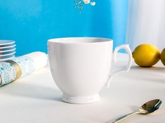 Filiżanka do kawy cappuccino porcelana mariapaula biała