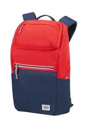 Plecak na laptopa american tourister upbeat 15,6 granatowo czerwony - bluered