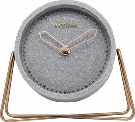 Zegar stołowy cross table szary