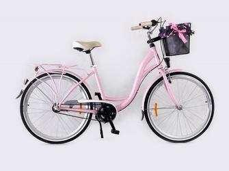 Rower storm 26 stockholm 3-biegowy różowy