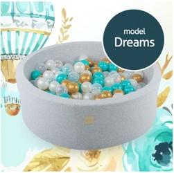 Suchy basen dla dziecka 90x40 cm + 250 piłek - dreams