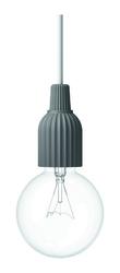 Lampa wisząca LP Fitting 230V ciemnoszara