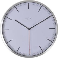 Zegar ścienny company 35 cm biały