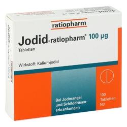 Jodid ratiopharm 100 µg tabletki