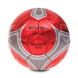Piłka nożna spokey velocity mini czerwono-srebrna 835923