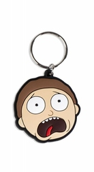 Rick and Morty Morty Terrified Face - brelok