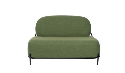 Sofa tapicerowana dolly 2-osobowa zielona