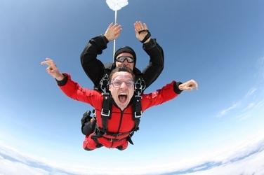 Skok ze spadochronem dla dwojga - warszawa ostrów mazowiecka