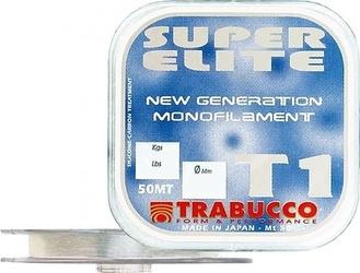 Żyłka przyponowa trabucco super elite t1 0,12mm 3,10kg
