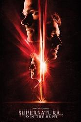 Supernatural dawn of darkness - plakat z serialu