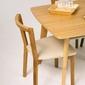 Nowoczesne krzesło dębowe cee