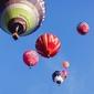 Balony - plakat premium wymiar do wyboru: 50x40 cm