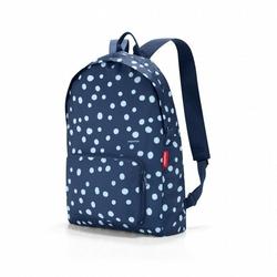 Plecak mini maxi rucksack navy spots - navy spots