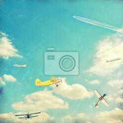 Fototapeta lotnictwo tle