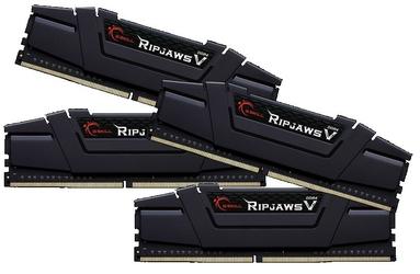 G.SKILL DDR4 64GB 4x16GB RipjawsV 3200MHz CL16 XMP2 Black