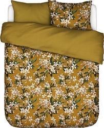 Pościel verano złota 200 x 200 cm z 2 poszewkami na poduszki 80 x 80 cm