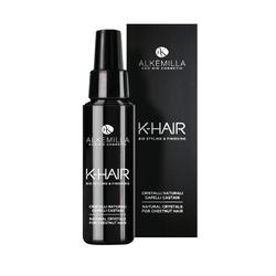 Naturalne kryształki do włosów brązowych w płynie k-hair - alkemilla