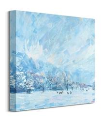 Winter walk - obraz na płótnie