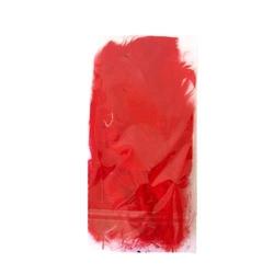 Dekoracyjne piórka - czerwony - cze