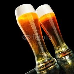 Obraz na płótnie canvas dwuczęściowy dyptyk piwo