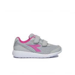 Buty biegowe dziecięce diadora robin jr v - szary