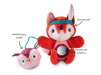 Lisica alice pacynka z dzwoneczkiem