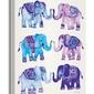 Elephants - obraz na płótnie