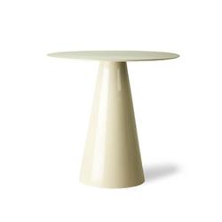 Hkliving :: stolik metalowy rozmiar l kremowy