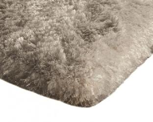 Dywan pluszowy mikrofibra wysoki shaggy 120x170 beżowy