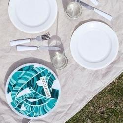 Zestaw piknikowy liść palmy