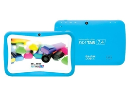 Blow tablet kidstab7.4hd2 quad niebieski + etui