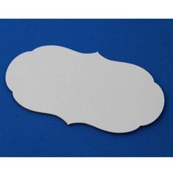 Dekoracyjny tag do scrapbookingu - 8x14 cm