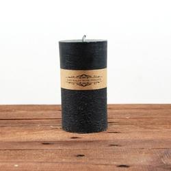 Świeca z wosku pszczelego k czarna
