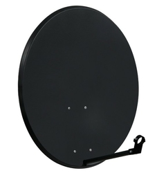 Czasza antena satelitarna 80 cm standard grafitowa  - szybka dostawa lub możliwość odbioru w 39 miastach