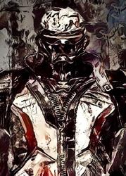 Legends of bedlam - soldier 76, overwatch - plakat wymiar do wyboru: 29,7x42 cm