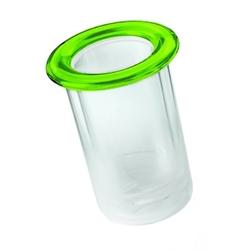 Guzzini - pojemnik na butelkę - mimi - zielony - zielony