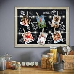 Podświetlana tablica na zdjęcia