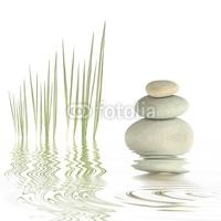 Obraz na płótnie canvas czteroczęściowy tetraptyk prostota zen