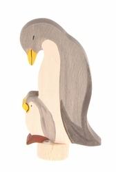 Drewniana figurka, Pingwiny, Grimms