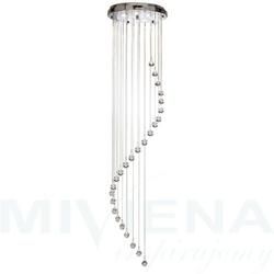 Hallway lampa wisząca 5 chrom