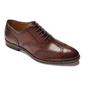 Eleganckie brązowe skórzane buty męskie typu brogue van thorn 40