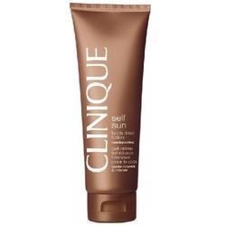 Clinique self sun body tinted lotion mediumdeep kosmetyki damskie - samoopalacz do ciała 125ml - mediumdeep