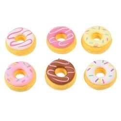 Gumki do zmazywania 6 szt., donut, rex london - donut