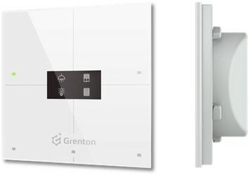 Grenton - smart panel 4b, oled, tf-bus, biały 2.0 - szybka dostawa lub możliwość odbioru w 39 miastach