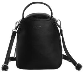 Plecak damski czarny david jones 5705 - czarny