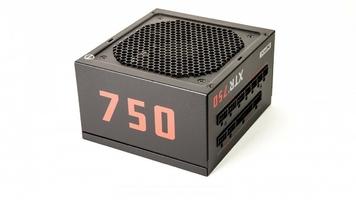Xfx zasilacz xtr2 750w full modular 80+ gold, 6xpeg, 120mm, single rail