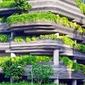 Obraz garaż porośnięty roślinami fp 2301 p